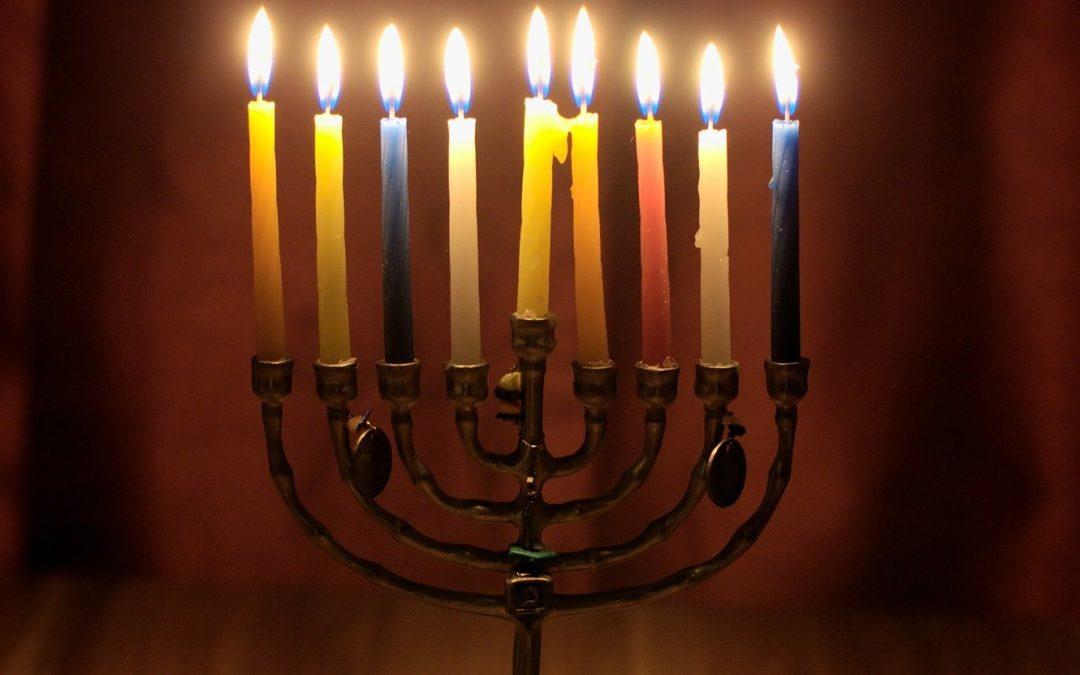 DIY Hanukkah Menorah!